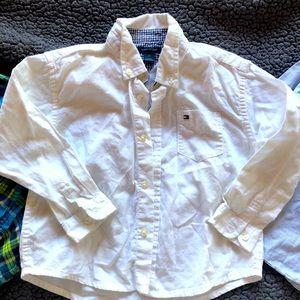 Tommy Hilfiger Calvin Klein button down shirt lot